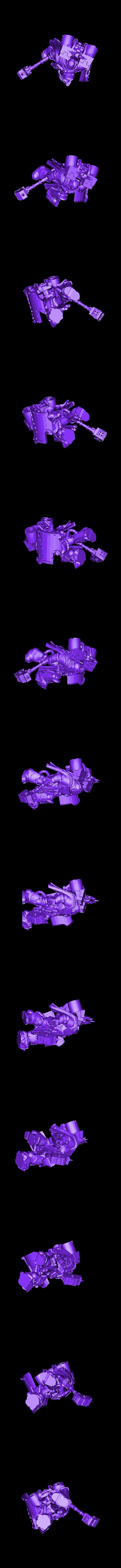 warhammer.stl Télécharger fichier STL gratuit le capitaine de smashy War Hammer • Modèle pour imprimante 3D, davikdesigns