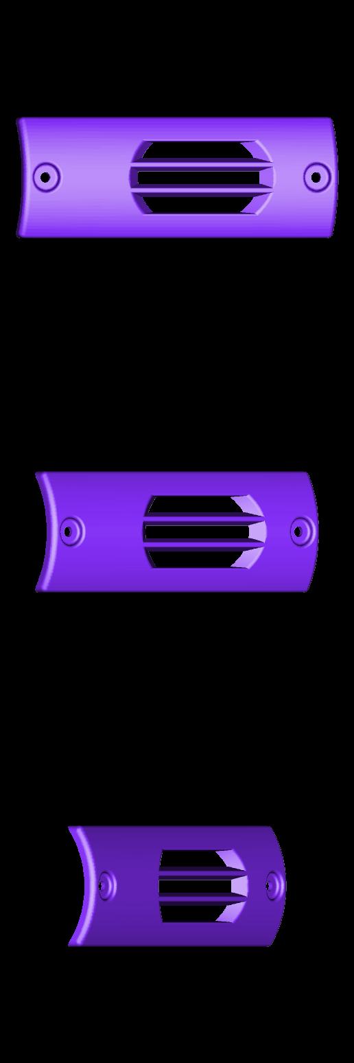 plaque.stl Download free STL file EXHAUST POT PLATE Booster Exhaust Plate • 3D printing object, Simonchantcliquet