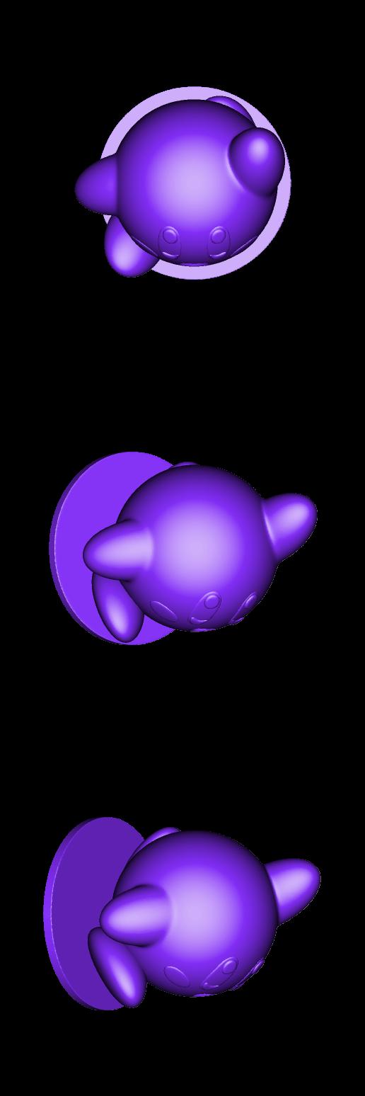 Kirby_V2_by_BODY3D.stl Télécharger fichier STL gratuit Kirby V2 • Plan pour imprimante 3D, BODY3D