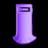 Pink_Nana_-_Hair.stl Télécharger fichier STL gratuit Super Nana Totem • Design imprimable en 3D, BODY3D
