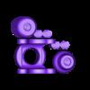 DuoRoller_Plate.stl Télécharger fichier STL Duo de rouleaux de massage • Modèle pour impression 3D, a69291954