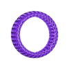 convexBracelet_-_Voronoi_D.stl Download free STL file Bracelet - Voronoi Style • 3D print model, Numbmond