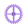 gear32.stl Download free STL file The First Clock • 3D print design, JacquesFavre