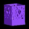 pen-holder.stl Télécharger fichier STL gratuit Pen Stand • Objet pour imprimante 3D, WallTosh