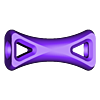 Elastic_ties_with_holes.stl Download free STL file Elastic Ties - Optimized for 3D-Printing • 3D printing model, SunShine