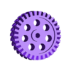 helical_double_circle.stl Download free STL file OpenSCAD Helical Gears • 3D printing object, AlbertKhan3D