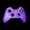 XBONE_CP.stl Télécharger fichier STL gratuit Façade du contrôleur CyberPunk Xbox • Objet pour imprimante 3D, Mehdals