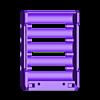 18650_5P_base_V2_Vented.stl Télécharger fichier STL gratuit NESE, le module V2 sans soudure 18650 (VENTED) • Objet pour imprimante 3D, 18650
