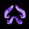 moustache_solid.stl Download free STL file Moustache Mask addon • 3D print object, yttrium