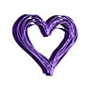 Hearts top.stl Télécharger fichier STL gratuit Les écouteurs Hearts se tiennent debout • Modèle pour imprimante 3D, CheesmondN
