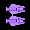 54_Drag_Leg5_ThighSide2_GREEN.stl Download STL file ARTICULATED DRAGONLORD (not Dragonzord) - NO SUPPORT • 3D printer model, Toymakr3D