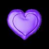 HeartDonut2.stl Download free STL file Love Cookies • 3D print object, acmabute