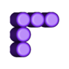 Five_5.stl Download free STL file Odd Numbers and Square Numbers • 3D printable model, LGBU