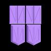 Doors.stl Download free STL file HO Scale Big Red Barn • 3D printer template, kabrumble