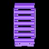 18650_7P_lid_V2_Vented.stl Télécharger fichier STL gratuit NESE, le module V2 sans soudure 18650 (VENTED) • Objet pour imprimante 3D, 18650