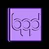 Tennis_bAd_1S.stl Download free STL file Tennis String Vibration Dampener with your LOGO! • 3D printing design, sportguy3Dprint