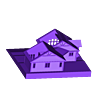 model_sw_chalet_papa_pour_objet.STL Download free STL file I printed my parent's house in Canada • 3D printable design, leFabShop