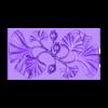 Decorative_Flowers.stl Télécharger fichier OBJ gratuit Modèle 3D de panneau décoratif de fleurs • Design imprimable en 3D, DavidG7