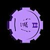 7_fleshwound.stl Download free STL file Necromunda Status Markers • Design to 3D print, jw7007