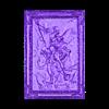 Piccc9DiI_3dp.rocks_.stl Download free STL file Saint Michael the Archangel Lithophane • 3D printable design, rebeltaz