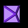 Hollow_Pyramid_short.stl Download free STL file Hollow Calibration Pyramid • 3D printing design, Reneton