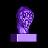 Scream buste.OBJ Télécharger fichier OBJ gratuit Scream buste • Objet imprimable en 3D, nicoco3D