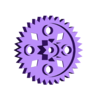 35mmGear.stl Download free STL file Crazy Cogs - Gear Play Set • 3D printer template, PapaBravo
