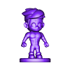 Ninja2.stl Descargar archivo STL NINJA CHIBI ( Tyler ) • Modelo para la impresión en 3D, MatteoMoscatelli