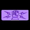 armbar-symbol-iron-fist.stl Télécharger fichier STL gratuit Sci-fi bunker bunker bunker 28mm • Design pour impression 3D, Terrain4Print