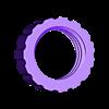 scraper_nut.stl Télécharger fichier STL gratuit Grattoir à peinture ergonomique pour lames utilitaires • Objet pour imprimante 3D, ericcherry