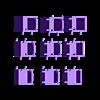 cubes.stl Download STL file Make-up organizer • 3D print design, eAgent