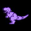 hardprint_baby_trex.stl Télécharger fichier STL gratuit Porte-clés Flexy Baby T-rex • Plan à imprimer en 3D, hardprint2018