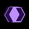 Hexagon pot (2).stl Télécharger fichier STL gratuit Pot à fleurs hexagonal • Objet imprimable en 3D, bossnics