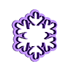 Copo de nieve 6cm.stl Download STL file Snowflake cutter set • 3D printing object, juanchininaiara