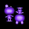 lily_split.stl Download free STL file Lily - Animal Crossing • 3D print design, skelei