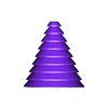 Sapin_LFS_upsidedown.stl Download free STL file FabShop's Tree • 3D printer model, leFabShop