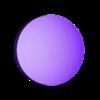 1UP_modular_dot_5.stl Download free STL file Super Mario Mushroom 1UP Hanger (Dual & Modular Single Extrusion) • 3D printable design, Runstone