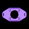 rised_plate.STL Télécharger fichier STL gratuit GoPro 360 Support de rotor • Objet pour impression 3D, daGHIZmo