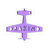 54-2.stl Télécharger fichier STL gratuit yak-54 porte-clés • Modèle pour impression 3D, shuranikishin