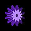 Bevel_gear_m2x12.STL Download free STL file party parrot automata • 3D printable design, melonshu