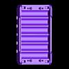 18650_2S3P_base.stl Télécharger fichier STL gratuit NESE, le module V2 sans soudure 18650 (FERMÉ) • Objet pour imprimante 3D, 18650