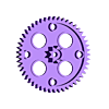 50mmGear.stl Download free STL file Crazy Cogs - Gear Play Set • 3D printer template, PapaBravo