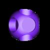 1UP_modular_hat.stl Download free STL file Super Mario Mushroom 1UP Hanger (Dual & Modular Single Extrusion) • 3D printable design, Runstone