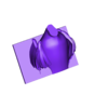 pearlBody.obj Download free OBJ file Pearl and Blu from RIO • 3D printer object, pipemontoya1999