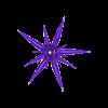 Milk_Thistle.stl Download free STL file Milk thistle flower • 3D printer model, EliGreen