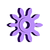 gear10.stl Download free STL file The First Clock • 3D print design, JacquesFavre