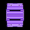 18650_2S2P_lid_V2_Vented.stl Télécharger fichier STL gratuit NESE, le module V2 sans soudure 18650 (VENTED) • Objet pour imprimante 3D, 18650