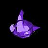 3Demon_Gengar_V1.stl Télécharger fichier STL gratuit Gengar Low-poly Pokemon • Modèle pour impression 3D, 3D-mon