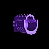 UNW_MS_NR_v2.stl Download free STL file FGC 9 UNW No rail Long and medium Shroud • 3D printer model, UntangleART