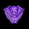 skull_pilot_harley2.stl Télécharger fichier STL gratuit Harley Skull • Modèle pour impression 3D, shuranikishin